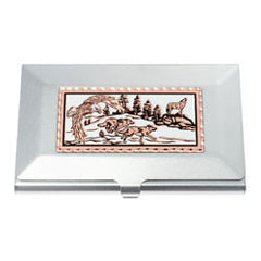 Wolf and Eagle Business-Credit Card Case