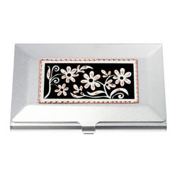 Floral Design Business-Credit Card Case