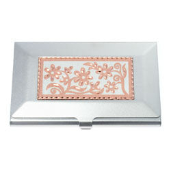 Floral Business-Credit Card Case
