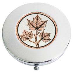 Maple Leaf Compact Mirror
