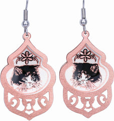 Cat Filigree Earrings