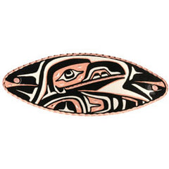 Native Raven Hair Clip