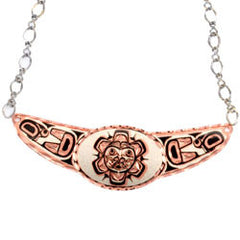 Native Sun Copper Diamond Cut Choker