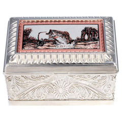 Fishing Keepsake Metal Box
