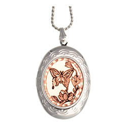 Butterflies Locket