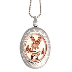 Eagle & Wolf Locket