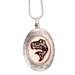 Native Salmon Locket