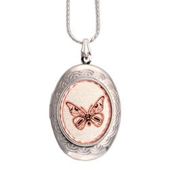 Native Butterfly Locket