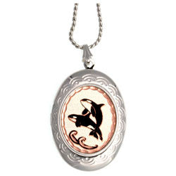 Killer Whale Locket