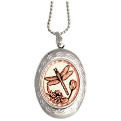 Dragonflies Locket