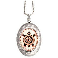 Native Turtle Locket