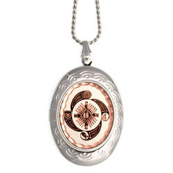 Native Wheel of Life Locket