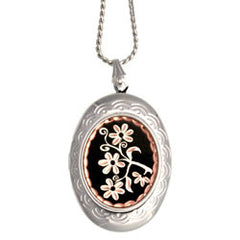 Floral Design Locket