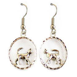 Cat M Series Earrings