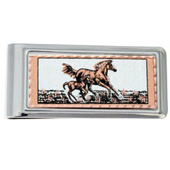 Horse Money Clip Rectangular