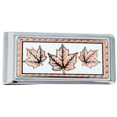 Maple Leaf Money Clip Rectangular