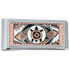 Native Turtle Money Clip Rectangular