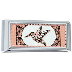 Native Hummingbird Money Clip Rectangular