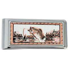 Fishing Money Clip Rectangular