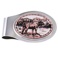 Moose Money Clip