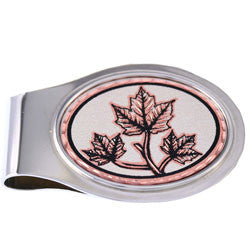 Maple Leaf Money Clip