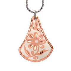Floral design Copper Necklace
