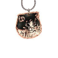 Cat Copper Necklace