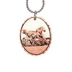 Horse Copper Necklace