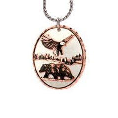 Bear & Eagle Copper Necklace