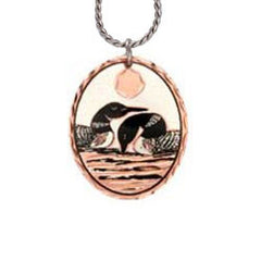 Loon Copper Necklace