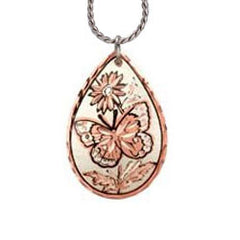 Butterfly Copper Necklace