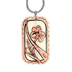 Flower Copper Necklace