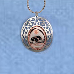 Loon Clouds Necklace