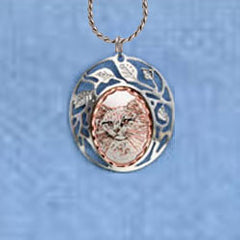 Cat Clouds Necklace