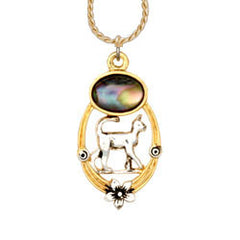 Cat Ocean Dance Necklace