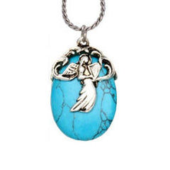 Angel Turquoise Reflections Necklace
