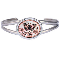 Butterfly Small Oval Bracelet