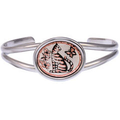 Cat Small Oval Bracelet
