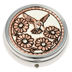 Hummingbird Pill Box