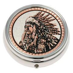 Native Indian Pill Box