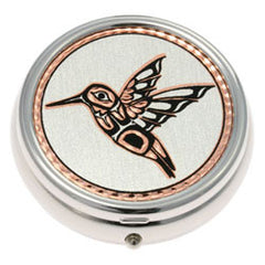 Native Hummingbird Pill Box