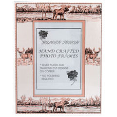 Moose and Deer Photo Frame