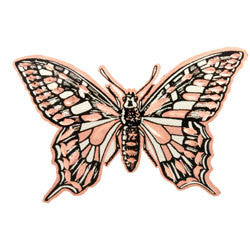 Butterfly Copper Pin