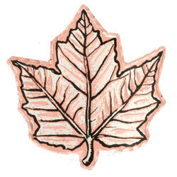 Maple Leaf Copper Pin