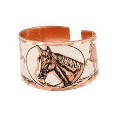Horse Copper Ring