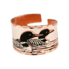 Loon Copper Ring