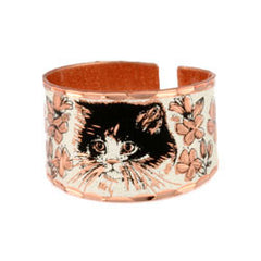 Cat Copper Ring