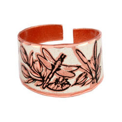 Dragonfly Copper Ring