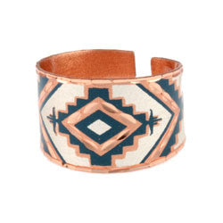 Native Design Copper Ring