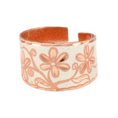Floral Copper Ring